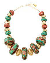 Ashley Pittman Yai Turquoise Necklace