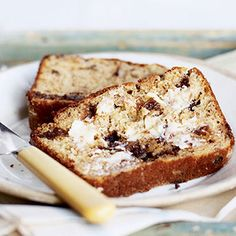Rich chocolate and prune bread