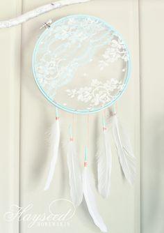 super cute DIY Lace Dream Catcher {by Hayseed Homemakin'} via @malloryjane01