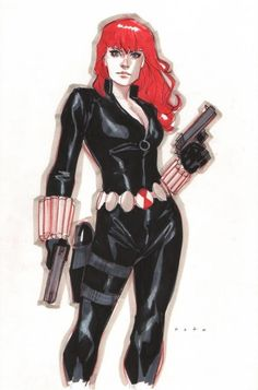 Black Widow by Phil Noto *