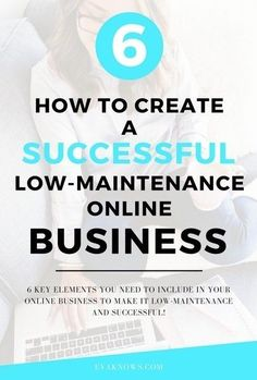 How to create a successful low-maintenance online business | Passive income | How to make money online - Read the full blog post in the secret content vault! http://sumo.ly/3PSu