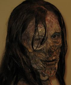 Zombie Makeup Reference