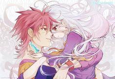 Sora and Shiro from No game No life