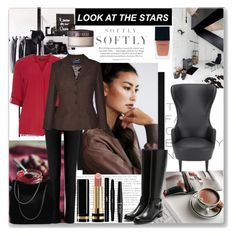 """""""Look at the stars"""" by krystalkm-7 ❤ liked on Polyvore featuring Dorothy Perkins, Roland Mouret, Ralph Lauren Blue Label, Rupert Sanderson, Gucci, Tom Dixon, Witchery, Laura Mercier, Yves Saint Laurent and NYX"""