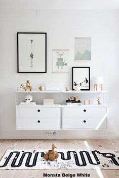 THIS RUGLove the Scandi schic monochrome kids bedroom style? You're going to need this must-have shopping list to get the look. black and white kids bedroom, monochrome nursery, modern home.