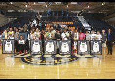 #UNCG #NorthCarolinaGreensboro women's basketball seniors, congratulations! #framedjersey #jerseyframing