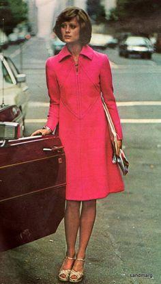 Vintage Vogue 2831 Alberto Fabiani  Flared Dress by sandmarg, $45.00