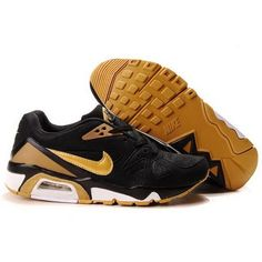 Wholesale Nike Air Max 91 Men Black Mineral Yellow Shoes $65