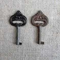 Vintage tracery beautiful key Retro happiness key by MyWealth