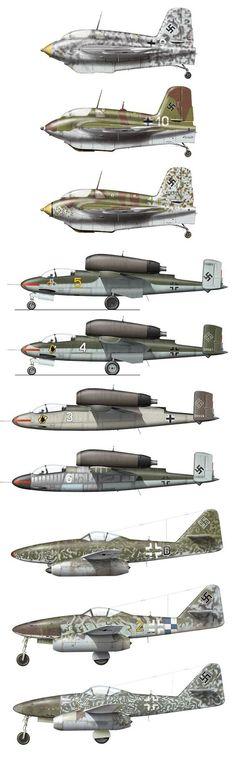 Luftwaffe Jets Me 163 / He 162 / Me 262::