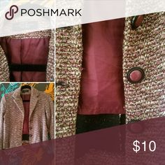 Vintage Chinese Laundry. Lightly worn. Acrylic Polyester Cotton blend. Made in USA. Comment below for questions. Chinese Laundry Jackets & Coats Blazers