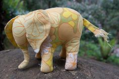 Elephant pattern from the book Sew Soft Toys
