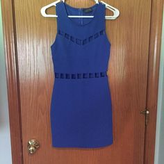 Party dress Pretty blue color with sassy cut outs Dresses