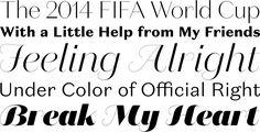 Typefacts | Die besten Fonts 2014 #typo #fonts