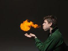 Firebreathing Science Trick - Henrik Sorensen, Getty Images