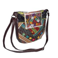 Ethnic Cross body bag/Shoulder bag/Casual bag by Kuchidesign