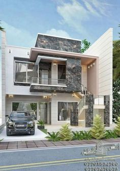 19 Cool Modern House Plans Cool Modern House Plans - Modern House Plan With 4 Bedrooms cool floor plans – shopiahouse House by Beyond Homes Contemporary House Design. Bungalow House Design, House Front Design, Small House Design, Cool House Designs, Modern House Design, Home Design, Modern Architecture House, Architecture Design, Modern House Facades