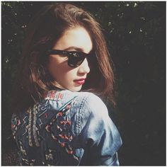 14 Times Rowan Blanchard's Instagram Proved She Is The Ultimate Cool... ❤ liked on Polyvore featuring rowan blanchard