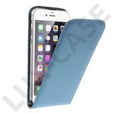 Nansen (Blå) iPhone 6 Läder Fodral