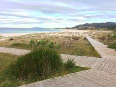 Más lugares preciosos de #Galicia. Ancoradoiro una playa que me encanta pasear en invierno.