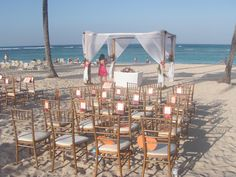 Ceremony Spot -   I like the fans for wedding favours - this is at Majestic Colonial, Punta Cana, Dom. Rep. I think this is the PLACE!!!!