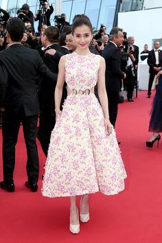 Angelababy in Christian Dior Couture   - HarpersBAZAAR.com