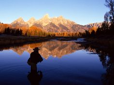 Nature: Fly Fishing The Snake River Wyoming, picture nr. Gone Fishing, Best Fishing, Fishing Trips, Kayak Fishing, Patagonia, Fish Wallpaper, Into The West, Fishing Photography, E Sport