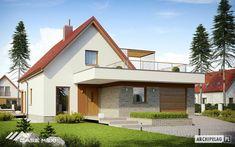 Casa cu mansarda E13 II G1 Economic