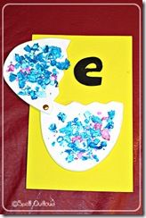 Ee is for Egg: Craft - Spell Out Loud