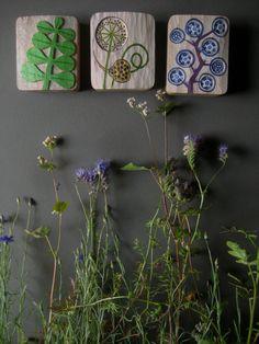 HOLZRELIEF BILD KNOBLAUCH garlic plant in wood by leschiwelt, €40.00