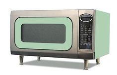 Big Chill microwave, retro modern appliance