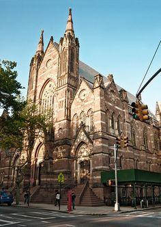 St. Ann's Church (1869), 131 Clinton Street, Brooklyn Heights, New York
