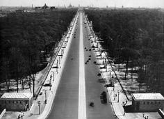 Berlin 1930er Ost-West-Achse (Strasse des 17.Juni)