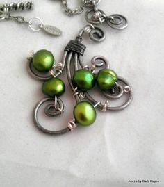 Not big on the beads being green but.....