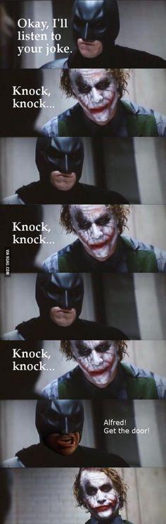 Jokers Joke - Batman Funny - Funny Batman Meme - - The post Jokers Joke appeared first on Gag Dad. Best Funny Jokes, Funny Jokes To Tell, Funny Memes, Hilarious, Poop Jokes, Silly Jokes, It's Funny, Funny Laugh, Funny Stuff