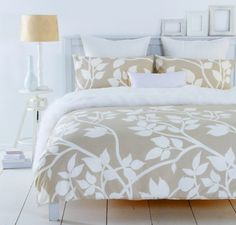 MADISON 3 Pce QUEEN Size Quilt / Doona Cover Set 250TC Silver Grey or Beige NEW
