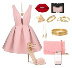 """""""🐽✨"""" by giiovannatorres on Polyvore featuring moda, Topshop, Chanel, Lime Crime, NARS Cosmetics, Casetify, Lord & Taylor, Gorjana, Bold Elements e Thomas Sabo"""