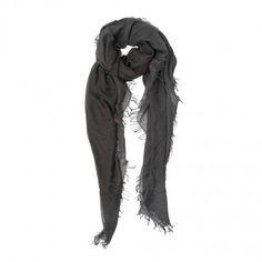Enrique scarf in grey by Faliero Sarti #Enrique #scarf #grey #FalieroSarti #FW13