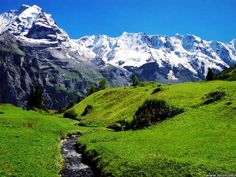 Switzerland has unlimited Scenery views, Landscapes, and is the heaven on earth.