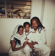 Orthodox Melkam Lidet Rastafari family