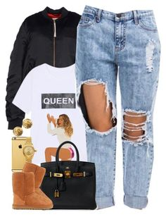 """Untitled #1519"" by power-beauty ❤ liked on Polyvore featuring adidas Originals, Goldgenie, Rolex, Hermès, UGG Australia and Chanel"