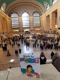 Made by Raffi at Grand Central Station ~P is for Craig Pomranz in this Debut Author Spotlight #AtoZchallenge