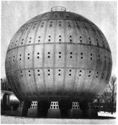 The Cunningham Sanitarium, a hyperbaric chamber intended to treat diabetes and cancer, ca. 1928 [[MORE]] captain_cornflakes: More information here. Futuristic Architecture, Architecture Design, Round Building, Vintage Medical, Higher Design, Medical History, Retro Futurism, Brutalist, Historical Pictures