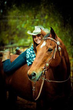 Senior pics. If I ever can get a horse.