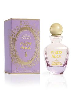 """Vivienne Westwood Flirty Alice #CosmoBestBeautyBuy """"This is the third in the Vivienne Westwood 'Alice' range and by far my fave. It's the perfect summer daytime fragrance, with notes of bergamont, green tea rose and vanilla; it has just the right amount of floral without being too heavy. It lasts really well and, because so many people have complimented me on it, I don't think I ever want to wear a different scent again! Plus, the bottle is oh-so-typically Westwood, which naturally, I…"""
