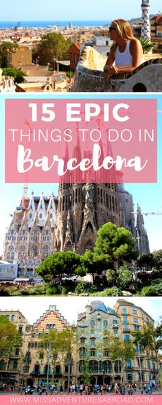 barcelona top 15 things to do