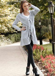 LindonaRem- Comunidade da Moda : Look do Dia Ideias Fashion, Tunic Tops, Blouse, Coat, Long Sleeve, Sleeves, Women, Coats And Jackets, Community