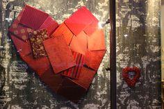 Heart Window Display