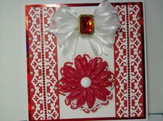 Red and White Card