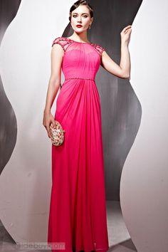 Marcela - Encantador Vestido de Noche de Princesa con Largo al Piso (Envío Gratuito ) : Tidebuy.com